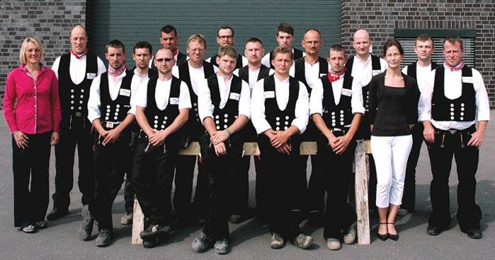 Das Team der Zimmerei und Holzbau Guido Oevermann